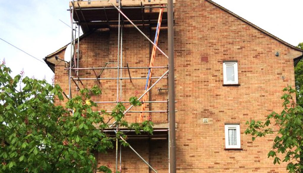 Chimney Stacks Scaffold