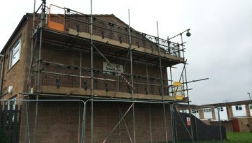 Scaffolding for House Extensions