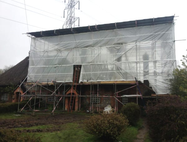 Temporary Roof Scaffold