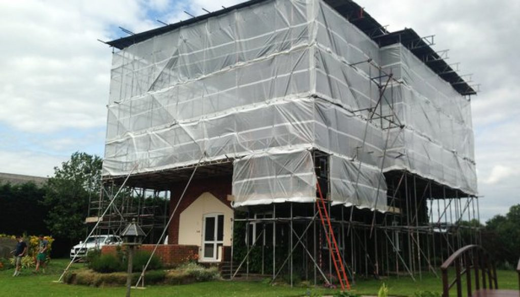 Temporary Roof Scaffold Services