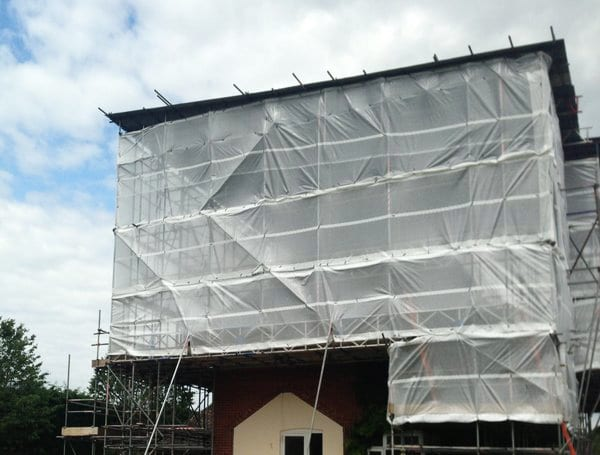 Temporary Roof Scaffolding Services