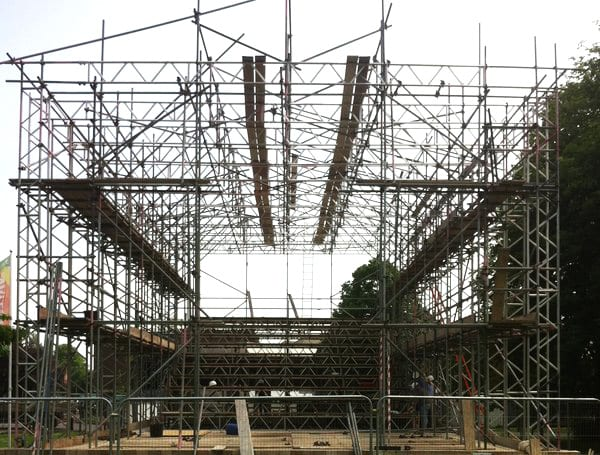 Theater Scaffolding Contractors