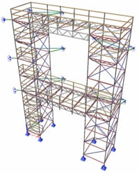 Scaffolding design